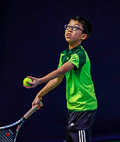 Hilversum, Netherlands, December 3, 2017, Winter Youth Circuit Masters, 12,14,and 16, years, Jessy Tan(NED)<br /> Photo: Tennisimages/Henk Koster
