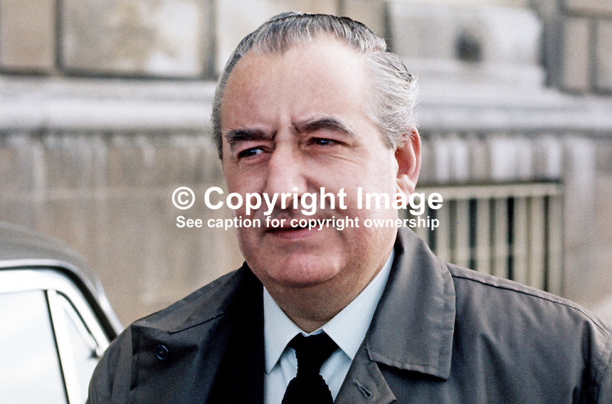 Jim Baillie, secretary, Ulster Unionist Party, at Parliament Buildings, Stormont, Belfast, N Ireland, 1970100363JB1, 363/70.<br /> <br /> Copyright Image from Victor Patterson,<br /> 54 Dorchester Park, Belfast, UK, BT9 6RJ<br /> <br /> t1: +44 28 90661296<br /> t2: +44 28 90022446<br /> m: +44 7802 353836<br /> <br /> e1: victorpatterson@me.com<br /> e2: victorpatterson@gmail.com<br /> <br /> For my Terms and Conditions of Use go to<br /> www.victorpatterson.com