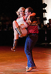 Tara Bowlby, Miss Reno Rodeo and instructor Adam Hopkins, Yaple's Ballroom performed the West Coast Swing dance in the Dancing with our Reno Celebrity Stars 2012 competition which benefits Veterans of Foreign Wars Post 3819.  The event was held on Sunday, September 30, 2012 in the Grand Theatre at the Grand Sierra Resort.