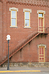 Near Main Street in Historic downtown Red Wing Minnesota USA