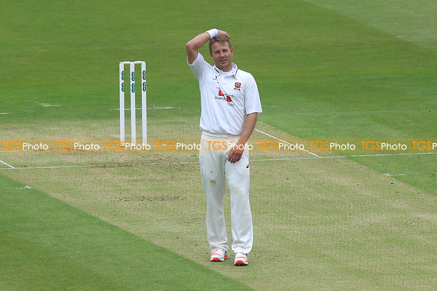 Frustration for Neil Wagner of Essex during Middlesex CCC vs Essex CCC, Specsavers County Championship Division 1 Cricket at Lord's Cricket Ground on 21st April 2017