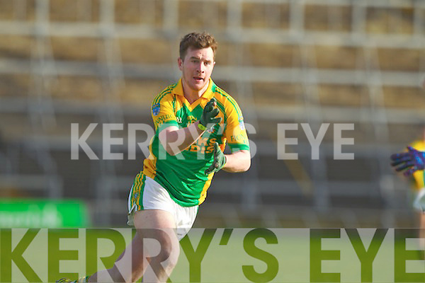Raymond Galvin Finuge in action against  Monasterevan in the All Ireland Intermediate Club Championship Semi Final at the Gaelic Grounds in Limerick on Sunday.