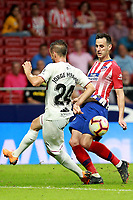 Atletico de Madrid vs Huesca Spanish league football match at Wanda Metropolitano in Madrid on September 25, 2018.<br /> Misano