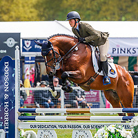 GBR-Kelly Aldous rides Kansas BDA during the Dubarry Burghley Young Event Horse 4YO. 2019 GBR-Dodson and Horrell Chatsworth International Horse Trial. Friday 10 May. Copyright Photo: Libby Law Photography