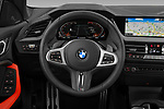 Car pictures of steering wheel view of a 2020 BMW 2-Series-Gran-Coupe M-Sport 4 Door Sedan Steering Wheel