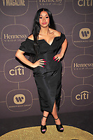 NEW YORK, NY - JANUARY 25: Cardi B at the  Warner Music Group Pre Grammy Celebration at The Grill/The Pool in New York City on January 25, 2018. Credit: John Palmer/MediaPunch