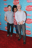 """16 July 2016 - Beverly Hills, California. Chris Parnell, Yvette Nicole Brown. Arrivals for the Los Angeles VIP screening for Disney's """"Elena of Avalor"""" held at Paley Center for Media. Photo Credit: Birdie Thompson/AdMedia"""