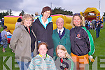 FIELD EVENING: Enjoying some of the activities at Churchill Macra na Feirme Field Evening at Churchill GAA Grounds, The Spa, Tralee, on Sunday were, front l-r: Maeve Carmody and Blaithin Griffin. Back l-r: Veronica Kelly, Antoinette Sayers, Mark O'Brien and Maggie Griffin..