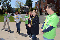 Rosetta Fasulo, Volunteer, Melissa Bartlett, Nina Musumeci (Club Development Specialist), Gilda Roncari (Club VP Development) and Patrick Quirk - Asylum Hill Boys and Girls Club, Hartford CT