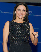 Julia Louis-Dreyfus arrives for the 2014 White House Correspondents Association Annual Dinner at the Washington Hilton Hotel on Saturday, May 3, 2014.<br /> Credit: Ron Sachs / CNP<br /> (RESTRICTION: NO New York or New Jersey Newspapers or newspapers within a 75 mile radius of New York City)