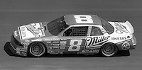 Bobby Hillin (8) Buick 7th place Atlanta Journal 500 at Atlanta International Raceway in Hampton , GA on November 19, 1989.  (Photo by Brian Cleary/www.bcpix.com)