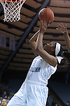 14 November 2014: North Carolina's Stephanie Mavunga. The University of North Carolina Tar Heels hosted the Howard University Bison at Carmichael Arena in Chapel Hill, North Carolina in a 2014-15 NCAA Division I Women's Basketball game. UNC won the game 83-49.