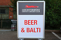 Beer and Balti sign ahead of Leicestershire CCC vs Essex CCC, Specsavers County Championship Division 2 Cricket at the Fischer County Ground, Grace Road on 24th August 2016