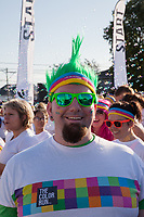 The Color Run 2015, Tacoma, Washington State, WA, America, USA.