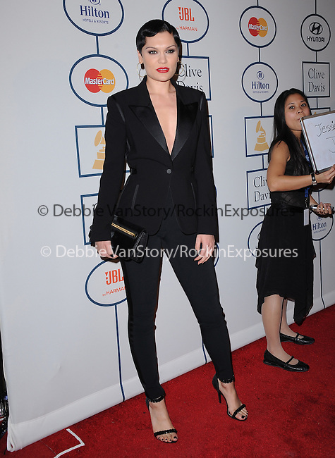 Jessie J at The Pre-GRAMMY Gala & Salute to Industry Icons with Clive Davis Honoring Lucian Grainge held at The Beverly Hilton Hotel in Beverly Hills, California on January 25,2014                                                                               © 2014 Hollywood Press Agency