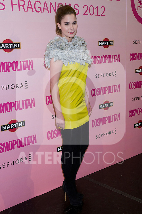 21.05.2012. Cosmopolitan Fragrance Awards 2012 at the Teatro Häagen-Dazs Calderón in Madrid. In the picture:  Natalia Sanchez (Alterphotos/Marta Gonzalez)