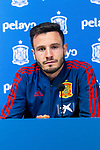 Spain's Saul Niguez during the press conference at the The Football City of the Royal Spanish Football Federation in Madrid 19th March 2019. (ALTERPHOTOS/Alconada)