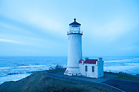 North Head Lighthouse at Cape Disappointment State Park, Ilwaco, Washington, US