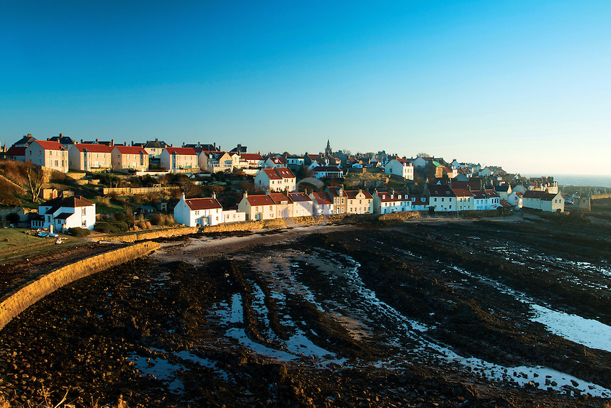The Fife of Pittenweem at dawn from the Fife Coastal Path, the East Neuk of Fife, Fife