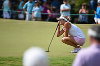 Lexi Thompson (USA) looks over her birdie putt on 9 during round 3 of the 2019 US Women's Open, Charleston Country Club, Charleston, South Carolina,  USA. 6/1/2019.<br /> Picture: Golffile | Ken Murray<br /> <br /> All photo usage must carry mandatory copyright credit (© Golffile | Ken Murray)
