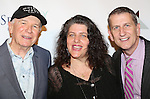 Terrence McNally, Sheryl Kaller and Tom Kirdahy attendd The 80th Annual Drama League Awards at The Marriot Marquis Times Square on May 16, 2014 in New York City.