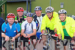 Noel Gleeson, John Durnin, Chris Durnin, Willie Downey, Gary Rice and PJ Gaire Duagh Cycling for charity at the start of the annual Ring of Kerry cycle in Killarney on Saturday ..