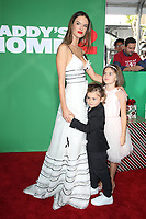 WESTWOOD, CA - NOVEMBER 5: Alessandra Ambrosio, Noah Mazur and Anja Mazur at the premiere of Daddy's Home 2 at the Regency Village Theater in Westwood, California on November 5, 2017. Credit: Faye Sadou/MediaPunch