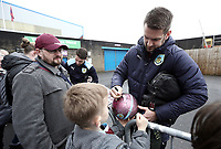 Burnley's Tom Heaton stops to sign autographs for the waiting fans as they arrive at Turf Moor ahead of kick-off,  <br /> <br /> Photographer Rich Linley/CameraSport<br /> <br /> The Premier League - Burnley v Everton - Wednesday 26th December 2018 - Turf Moor - Burnley<br /> <br /> World Copyright &copy; 2018 CameraSport. All rights reserved. 43 Linden Ave. Countesthorpe. Leicester. England. LE8 5PG - Tel: +44 (0) 116 277 4147 - admin@camerasport.com - www.camerasport.com