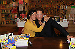 """Michele Vega and The Young and The Restless Sean Kanan """"Deacon"""" held a book signing on September 15, 2011 for his new book """"The Modern Gentleman - Cooking and Entertaining with Sean Kanan"""" at the Drama Book Shop, New York City, New York. """"Don't just set the table, set the mood.""""  In this book """"Sean Kanan, author, actor, producer and self-taught chef offers expert field-tested instruction on how any guy can become a refined, knowledgeable chef."""" (Photo by Sue Coflin/Max Photos)"""