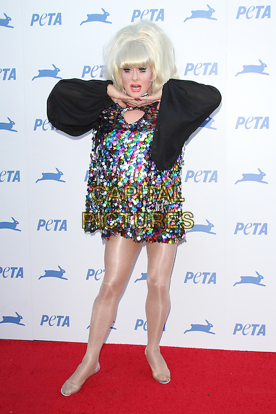 LOS ANGELES, CA - SEPTEMBER 30: Lady Bunny at PETA's 35th Anniversary Party at Hollywood Palladium on September 30, 2015 in Los Angeles, California. <br /> CAP/MPI22<br /> &copy;MPI22/Capital Pictures