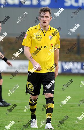 2014-11-23 / Voetbal / seizoen 2014-2015 / Berchem Sport / Olivier Claessens<br /><br />Foto: mpics.be