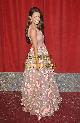 Lauren McQueen at the British Soap Awards 2019, The Lowry Theatre, Pier 8, The Quays, Media City, Salford, Manchester, England, UK, on Saturday 01st June 2019.<br /> CAP/CAN<br /> ©CAN/Capital Pictures
