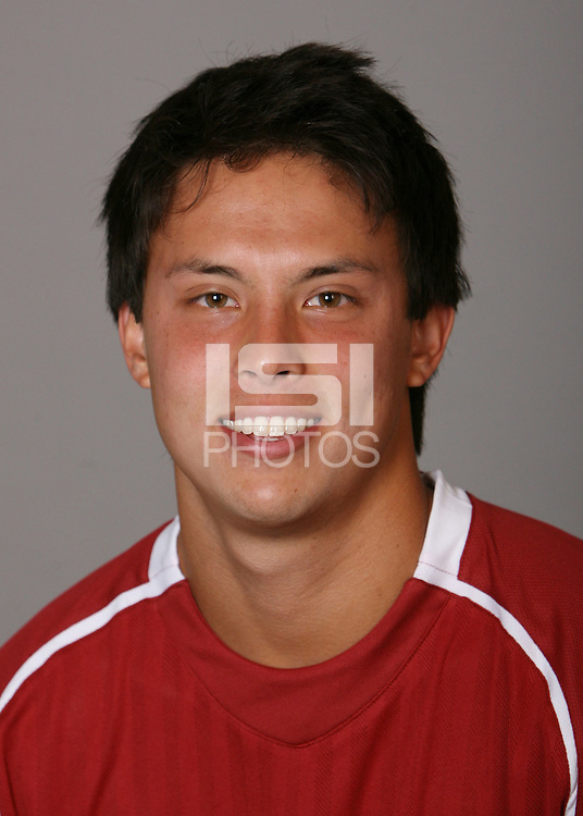 STANFORD, CA - AUGUST 15:  Clayton Holz of the Stanford Cardinal during picture day at the Arrillaga Family Sports Center on August 15, 2009 in Stanford, California.