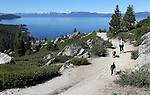 Views of Lake Tahoe from Tunnel Creek on Monday, July 25, 2011, in Incline Village, Nev. .Photo by Cathleen Allison