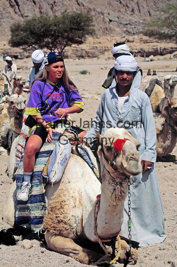 EGY, Aegypten, Ostwueste: Dromedar-Safari | EGY, Egypt, Eastern desert, dromedary safari