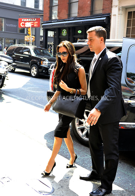 WWW.ACEPIXS.COM<br /> <br /> September 12 2013, New York City<br /> <br /> Victoria Beckham visited J Crew in Soho on September 12 2013 in New York City<br /> <br /> By Line: Curtis Means/ACE Pictures<br /> <br /> <br /> ACE Pictures, Inc.<br /> tel: 646 769 0430<br /> Email: info@acepixs.com<br /> www.acepixs.com