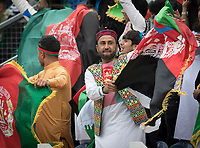 The Afghan flags were flying as Sri Lanka slumped to 180-8 from 140-1 during Afghanistan vs Sri Lanka, ICC World Cup Cricket at Sophia Gardens Cardiff on 4th June 2019