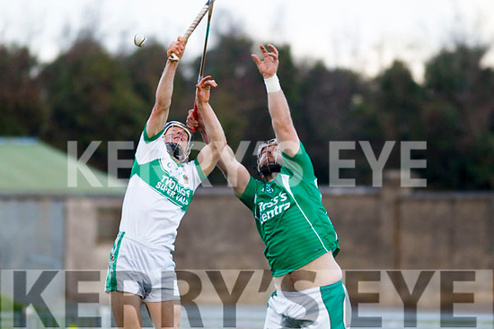 Ballyduff's Gary O'Brian and Kanturk in action, in the Munster IHC semi final in Austion Stack Park on Sunday last.