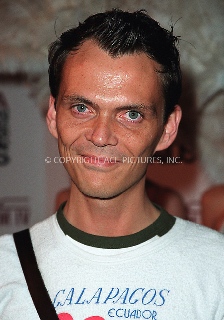 Designer Matthew Williamson arrives at the Viva Glam Casino to benefit Design Industries Foundation Fighting Aids at Cipriani 42nd Street in New York.  June 19, 2002. Please byline: Alecsey Boldeskul/NY Photo Press.   ..*PAY-PER-USE*      ....NY Photo Press:  ..phone (646) 267-6913;   ..e-mail: info@nyphotopress.com