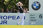 Justin Rose tees off from the par 4 6th tee during Round 3 of the BMW PGA Championship at  Wentworth, Surrey, England, 22nd May 2010...Photo Golffile/Eoin Clarke.(Photo credit should read Eoin Clarke www.golffile.ie)....This Picture has been sent you under the condtions enclosed by:.Newsfile Ltd..The Studio,.Millmount Abbey,.Drogheda,.Co Meath..Ireland..Tel: +353(0)41-9871240.Fax: +353(0)41-9871260.GSM: +353(0)86-2500958.email: pictures@newsfile.ie.www.newsfile.ie.