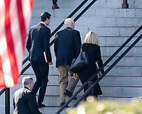 Kushner, Pence and Nielsen go to the Eisenhower Executive Office Building