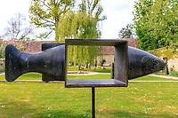 France, Indre-et-Loire (37), Chenonceaux, château et jardins de Chenonceau, jardin hommage à Russel lPage