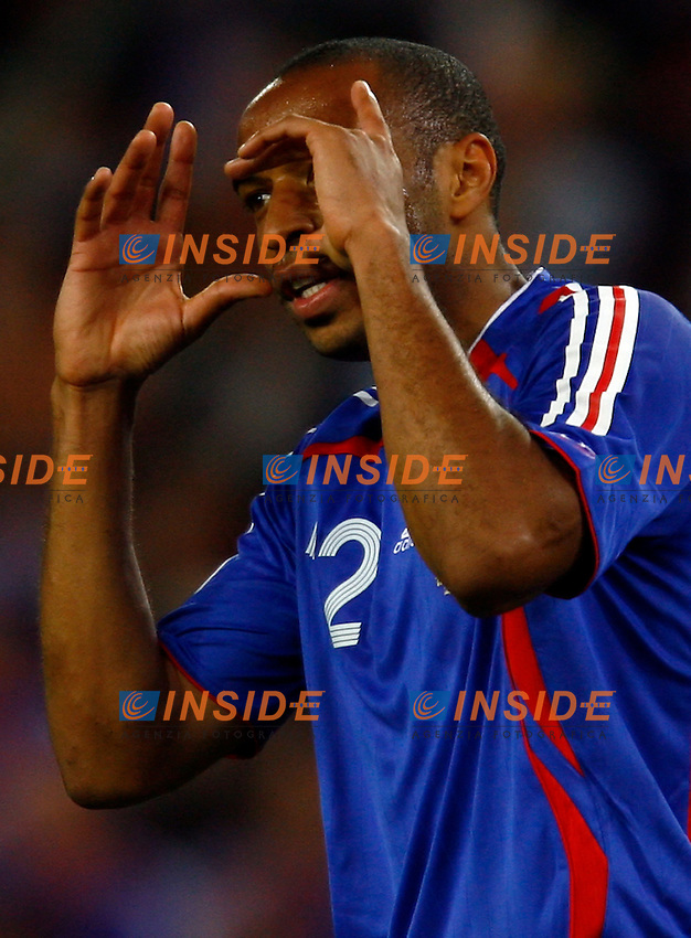 Colonia 23/6/2006 World Cup 2006.Togo Francia 0-2.Photo Andrea Staccioli Insidefoto.Thierry Henry Francia