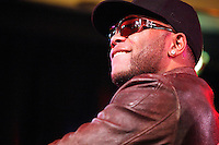 Flo Rida pictured at a very private studio performance at Q102 in Bala Cynwyd, Pa on December 9, 2010  ***EXCLUSIVE***  © Scott Weiner / MediaPunch Inc.