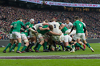 Twickenham, United Kingdom.   Natwest 6 Nations : England vs Ireland. England Drive, at the  RFU Stadium, Twickenham, England, <br /> <br /> Saturday   17.03.18<br /> <br /> [Mandatory Credit; Peter Spurrier/Intersport-images]