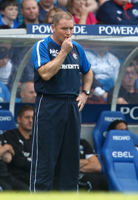 Ally McCoist thinks tactics