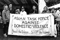 First Jane Doe Walk for Women's Safety, Raising funds for area shelter, programs and education, Boston October 25, 1992