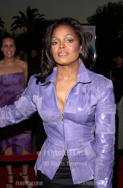 Pop star/actress JANET JACKSON at the world premiere, at the Universal Amphitheatre Hollywood, of her new movie Nutty Professor II: The Klumps.