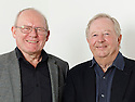 Graeme Garden  and Tim Brooke-Taylor commedians and writers who regularily appears in I'm Sorry I haven't a Clue on Radio. CREDIT Geraint Lewis