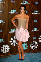 January 11, 2010:  Lea Michele arrives at the Fox All Star Party at the Villa Sorisso in Pasadena, California.Photo by Nina Prommer/Milestone Photo
